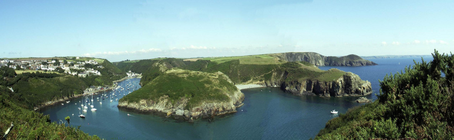 Panoramic View of Solva Harbour